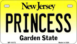 Princess New Jersey Wholesale Novelty Metal Motorcycle Plate MP-10172