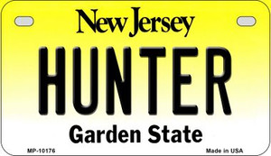 Hunter New Jersey Wholesale Novelty Metal Motorcycle Plate MP-10176