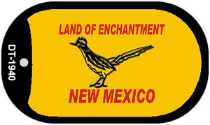 Road Runner Yellow New Mexico Wholesale Novelty Metal Dog Tag Necklace DT-1940