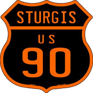 Sturgis US 90 Wholesale Novelty Metal Highway Shield Magnet HSM-567