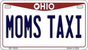 Moms Taxi Ohio Wholesale Novelty Metal Motorcycle Plate MP-10090