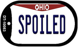 Spoiled Ohio Wholesale Novelty Metal Dog Tag Necklace DT-10083