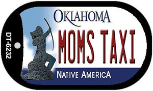 Moms Taxi Oklahoma Wholesale Novelty Metal Dog Tag Necklace DT-6232