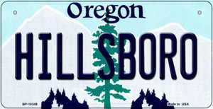 Hillsboro Oregon Wholesale Novelty Metal Bicycle Plate BP-10348