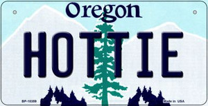 Hottie Oregon Wholesale Novelty Metal Bicycle Plate BP-10359