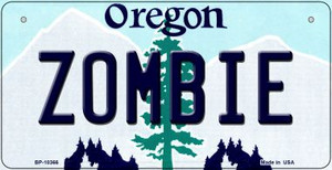 Zombie Oregon Wholesale Novelty Metal Bicycle Plate BP-10366