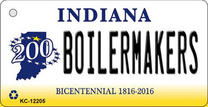 Boilermakers Indiana Wholesale Novelty Metal Key Chain KC-12205