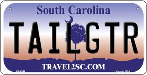 Tailgtr South Carolina Wholesale Novelty Metal Bicycle Plate BP-6269