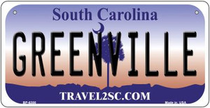 Greenville South Carolina Wholesale Novelty Metal Bicycle Plate BP-6300
