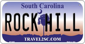Rock Hill South Carolina Wholesale Novelty Metal Bicycle Plate BP-6309