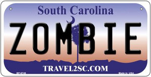 Zombie South Carolina Wholesale Novelty Metal Bicycle Plate BP-6745