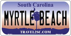 Myrtle Beach South Carolina Wholesale Novelty Metal Bicycle Plate BP-5414