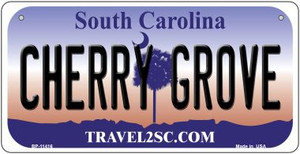 Cherry Grove South Carolina Wholesale Novelty Metal Bicycle Plate BP-11416