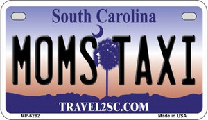 Moms Taxi South Carolina Wholesale Novelty Metal Motorcycle Plate MP-6282