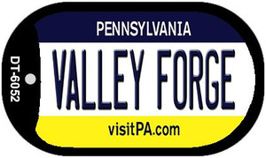 Valley Forge Pennsylvania Wholesale Novelty Metal Dog Tag Necklace DT-6052