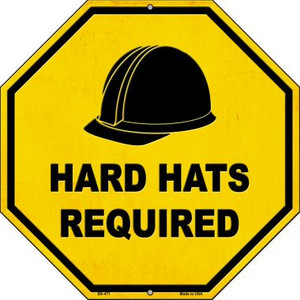 Hard Harts Required Wholesale Novelty Metal Stop Sign BS-471