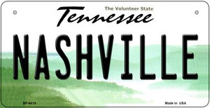 Nashville Tennessee Wholesale Novelty Metal Bicycle Plate BP-6415