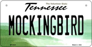 Mocking Bird Tennessee Wholesale Novelty Metal Bicycle Plate BP-6420