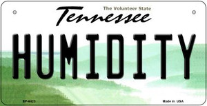 Humidity Tennessee Wholesale Novelty Metal Bicycle Plate BP-6423