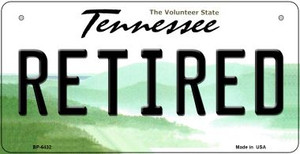 Retired Tennessee Wholesale Novelty Metal Bicycle Plate BP-6432