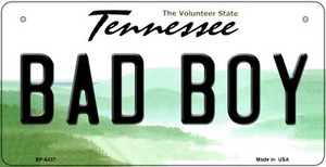 Bad Boy Tennessee Wholesale Novelty Metal Bicycle Plate BP-6437