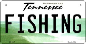 Fishing Tennessee Wholesale Novelty Metal Bicycle Plate BP-6447