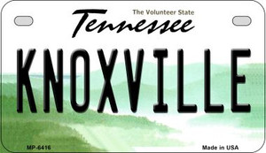 Knoxville Tennessee Wholesale Novelty Metal Motorcycle Plate MP-6416