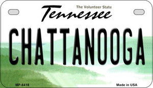 Chattanooga Tennessee Wholesale Novelty Metal Motorcycle Plate MP-6418