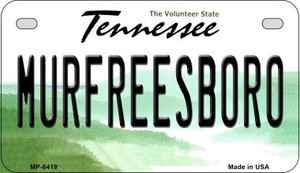 Murfreesboro Tennessee Wholesale Novelty Metal Motorcycle Plate MP-6419