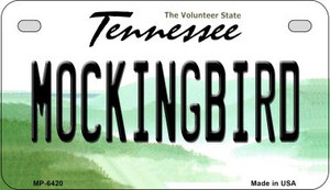 Mocking Bird Tennessee Wholesale Novelty Metal Motorcycle Plate MP-6420