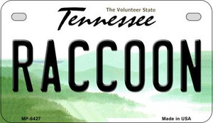 Raccoon Tennessee Wholesale Novelty Metal Motorcycle Plate MP-6427