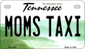Moms Taxi Tennessee Wholesale Novelty Metal Motorcycle Plate MP-6440