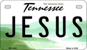 Jesus Tennessee Wholesale Novelty Metal Motorcycle Plate MP-6448