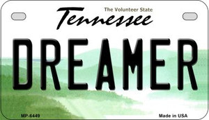 Dreamer Tennessee Wholesale Novelty Metal Motorcycle Plate MP-6449
