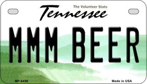 MMM Beer Tennessee Wholesale Novelty Metal Motorcycle Plate MP-6456