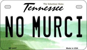 No Murci Tennessee Wholesale Novelty Metal Motorcycle Plate MP-6457