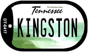 Kingston Tennessee Wholesale Novelty Metal Dog Tag Necklace DT-6417