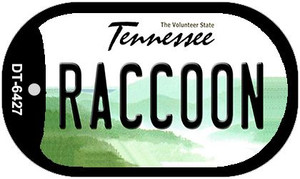 Raccoon Tennessee Wholesale Novelty Metal Dog Tag Necklace DT-6427