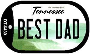 Best Dad Tennessee Wholesale Novelty Metal Dog Tag Necklace DT-6430