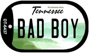 Bad Boy Tennessee Wholesale Novelty Metal Dog Tag Necklace DT-6437