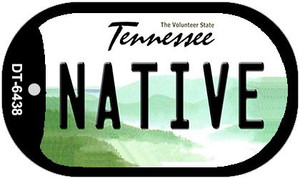 Native Tennessee Wholesale Novelty Metal Dog Tag Necklace DT-6438