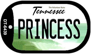 Princess Tennessee Wholesale Novelty Metal Dog Tag Necklace DT-6439