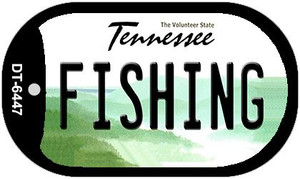 Fishing Tennessee Wholesale Novelty Metal Dog Tag Necklace
