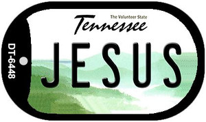 Jesus Tennessee Wholesale Novelty Metal Dog Tag Necklace DT-6448