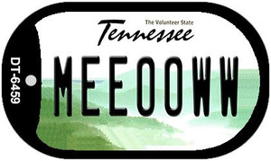 Meeooww Tennessee Wholesale Novelty Metal Dog Tag Necklace DT-6459