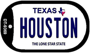 Houston Texas Wholesale Novelty Metal Dog Tag Necklace DT-9369