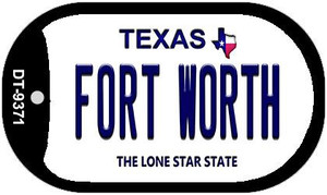 Fort Worth Texas Wholesale Novelty Metal Dog Tag Necklace DT-9371