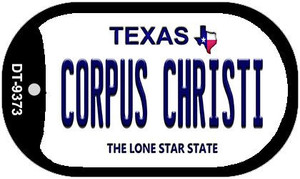 Corpus Christi Texas Wholesale Novelty Metal Dog Tag Necklace DT-9373