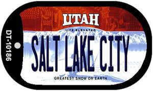 Salt Lake City Utah Wholesale Novelty Metal Dog Tag Necklace DT-10186