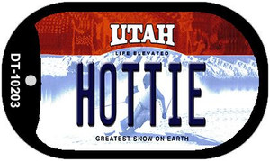 Hottie Utah Wholesale Novelty Metal Dog Tag Necklace DT-10203